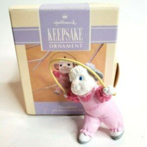 1993 Easter Hallmark Keepsake Ornament Daughter